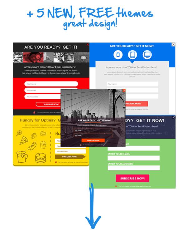 Ninja Popups  - ninja popups ver 4 img3 2 - Popup Plugin for WordPress – Ninja Popups