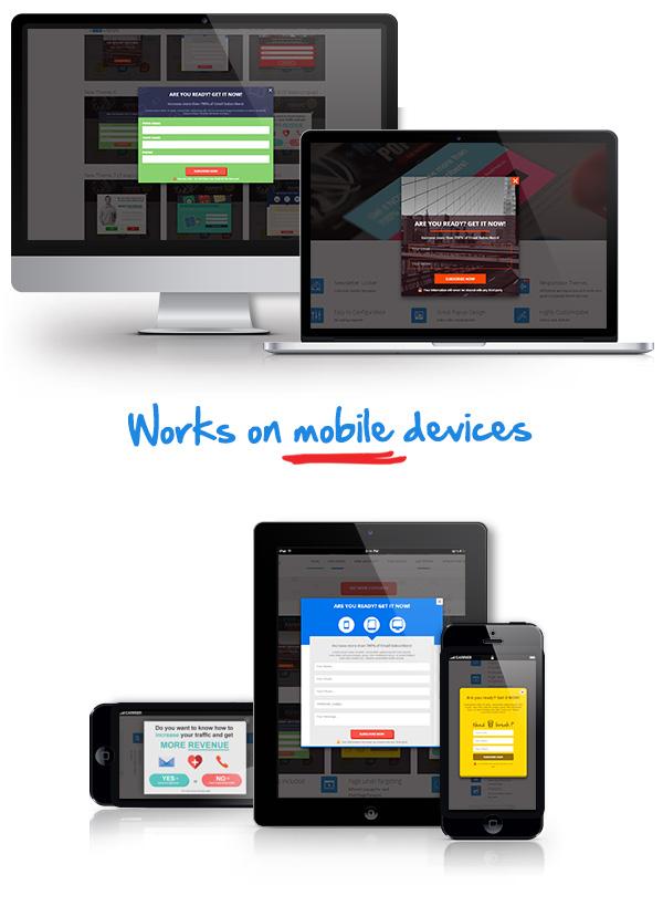 Ninja Popups  - ninja popups ver 4 img3 4 - Popup Plugin for WordPress – Ninja Popups